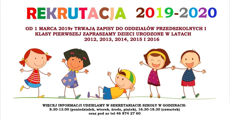 rekrutacja-przedszkole-plakat